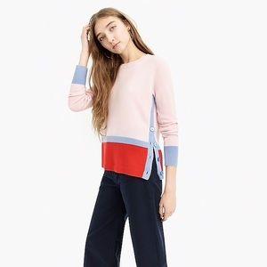 J.Crew Cashmere Crewneck  Pullover Sweater Medium